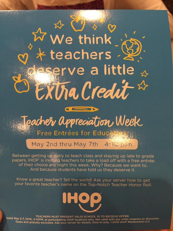 Teacher appreciation deals 2018