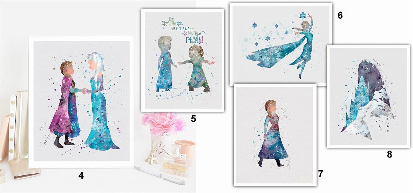 frozen prints
