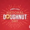 Krispy Kreme National Doughnut Day Freebie on June 2nd