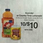 Kool-Aid & Country Time Lemonade Canisters Only $0.45 at Kroger!
