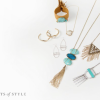 Deals On Trend! – Marble or Turquoise Jewelry for 50% Off