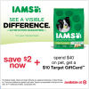 IAMS Coupon and Target Gift Card Offer
