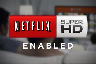 how to make sure netflix is streaming hd