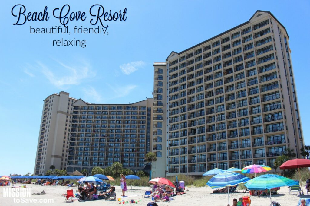 Beach Cove Resort Perfect Relaxing Family Vacation In North Myrtle