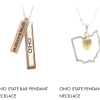 Ohio is On Trend!  NEW Ohio State Bar Pendant Necklace!