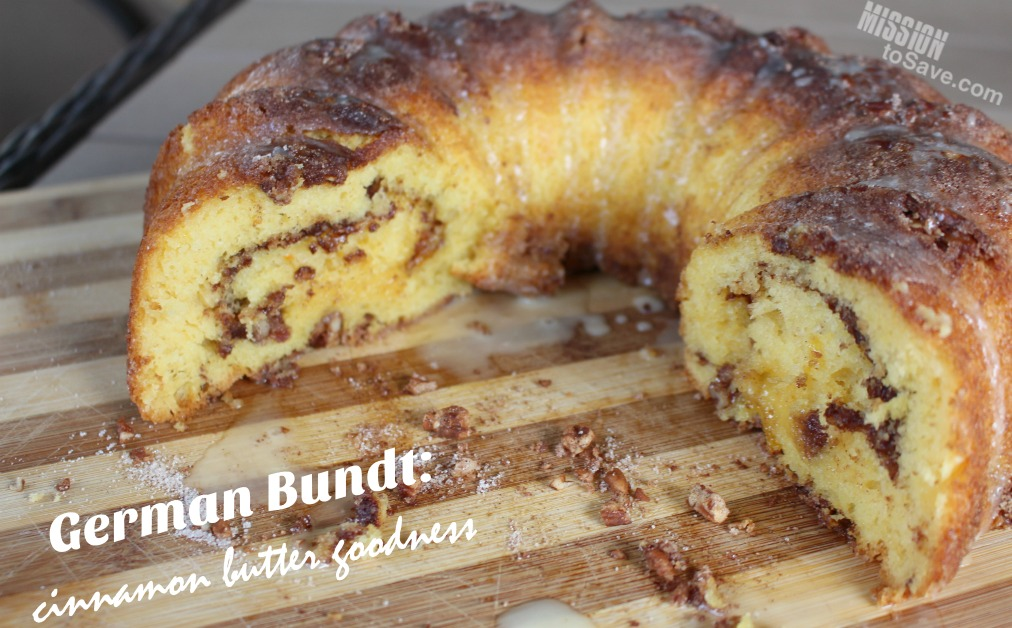 German Bundt A Cinnamon Butter Cake Recipe Mission To Save
