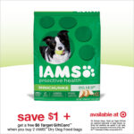 Target Gift Card Offer on IAMS Dog Food