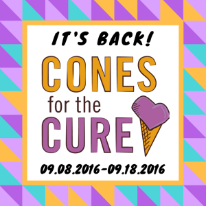 cones for the cure