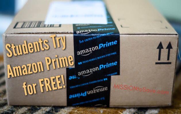 free amazon prime student