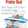 HP Printer Deal at Target (+ Free Instant Ink Trial)