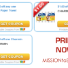 WOW! High Value Charmin and Viva Printable Coupons