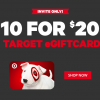 Half Off at Target!  $20 Target Gift Card for $10 on Groupon