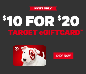 Half Off at Target! $20 Target Gift Card for $10 on Groupon ...