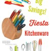 Big Savings on Fiesta Kitchenware- Today Only- Up to 65% OFF!