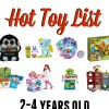 Amazon Hot Holiday Toy List for Kids- 2 to 4 years old