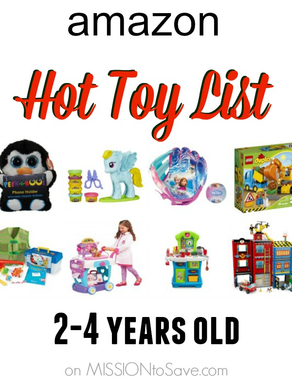 Hot Toys 4 Year Olds : Amazon hot holiday toy list for kids to years old