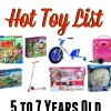 Amazon Hot Holiday Toy List for Kids- 5 to 7 Years Old