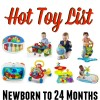 Amazon Hot Holiday Toy List for Kids- Newborn to 24 Months