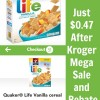 Kroger Mega Event Sale- Vanilla Life Cereal Just $0.47!