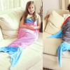 Personalized Mermaid Tail Blanket or Shark Tail Blanket- Price Drop!