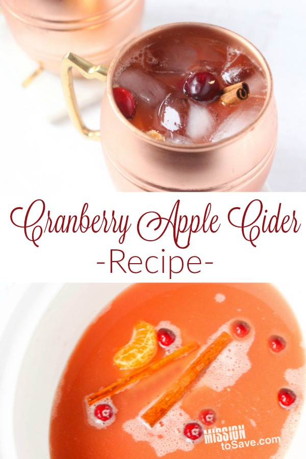Want to make that apple cider Thanksgiving worthy? Add cranberries! This CrockPot Cranberry Apple Cider would make a perfect addition to your Thanksgiving Meal. And since it' simmers in a slow cooker, you don't even have to worry about it.