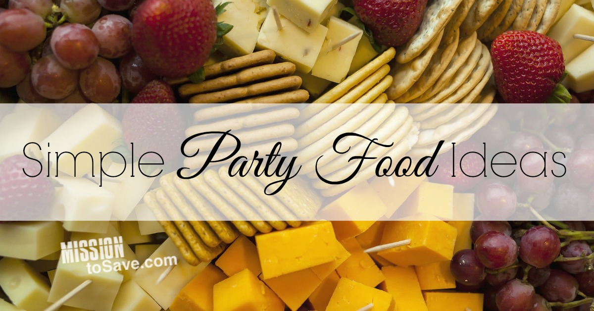 Easy appetizer ideas for your party food menu mission for Easy food ideas for parties