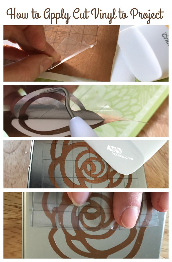 How To Cut Image In Vinyl On Cricut Explore Air Mission
