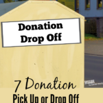 Donation is a great way to get rid of things you no use, while helping out someone in need. Check out this list of donation pick up or donation centers near you. Also see tips for choosing a donation organization.