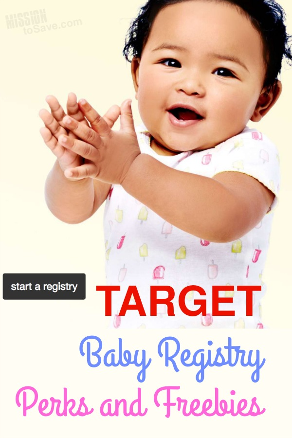 Perks and Freebies for Creating a Target Baby Registry ...