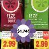 IZZE Deal at Kroger- Just $1.74 after Printable Coupon