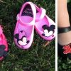 Adorable Mickey and Minnie Character Inspired Shoes