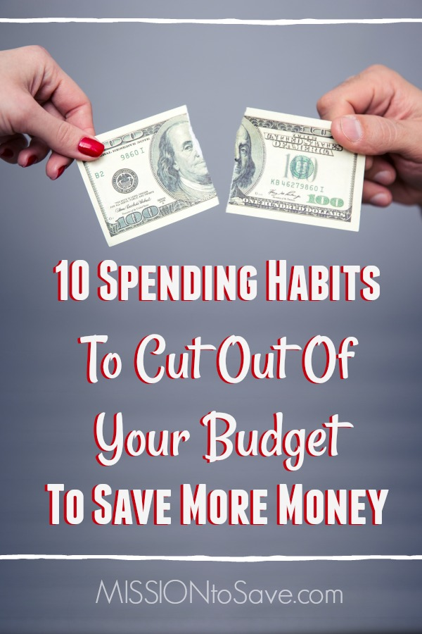 We all work hard to earn a living but do you really know where your money is actually going? You may be throwing away your hard earned paycheck each month without even realizing it! By just cutting out some little things from your budget each week, it could save you thousands of dollars per year. Check out these 10 Spending Habits To Cut Out Of Your Budget To Save More Money