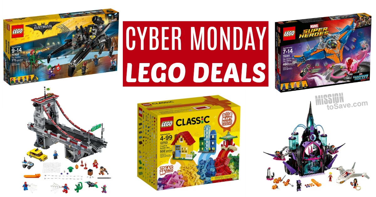 LEGO sets make great gifts, and LEGO has a history of offering Cyber Monday discounts for loweredlate.ml shoppers. Past LEGO Cyber Monday deals have included up to 60% off various sets. We'll be keeping an eye out of for LEGO Cyber Monday deals for all the sets on your holiday gift list.