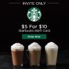 HOT LivingSocial Starbucks Deal {Invite Only}