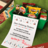 Holiday Delivery Drivers Thank You Snacks Printable Sign